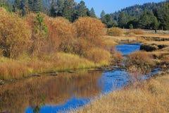 Vallée d'espoir, couleur d'automne Photo stock