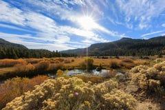 Vallée d'espoir, temps d'automne Image stock
