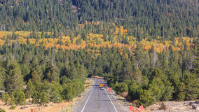 Vallée d'espoir, temps d'automne Photos stock