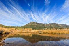 Vallée d'espoir, temps d'automne Photo libre de droits