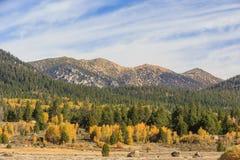 Vallée d'espoir, temps d'automne Images stock