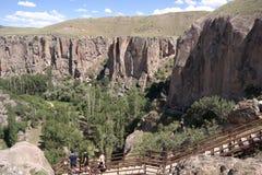 Vallée d'Ihlara Photos stock