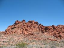 Vallée d'incendie, Nevada Photographie stock libre de droits