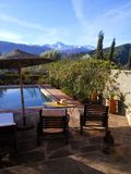Vallée d'Ourika, Maroc Photos stock