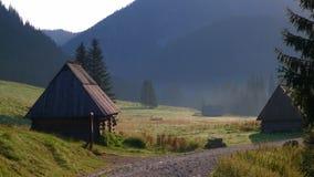 Vallée d'owska de 'de ChochoÅ, Tatra Mouintains, Tatras, Pologne images stock