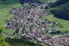 Vallée dans les Alpes Photographie stock libre de droits