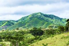 Vallée dans les montagnes Photos libres de droits