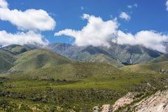 Vallée de Calchaqui à Tucuman, Argentine Images stock