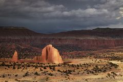 Vallée de cathédrale, Utah, Etats-Unis Photo libre de droits