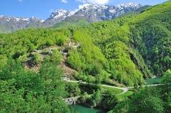 Vallée de Centovalli, canton de Tessin, Suisse Images stock