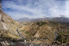 Vallée de Colca Image libre de droits