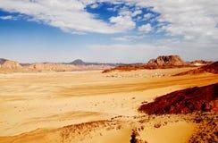 Vallée de désert Image libre de droits