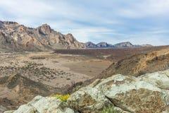 Vallée de désert Images stock