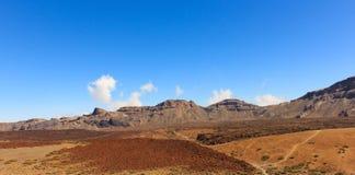Vallée de désert, panorama de paysage de montagne, Photo stock
