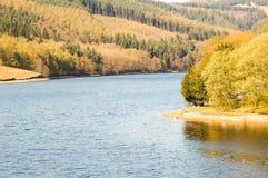 Vallée de Derwent de scène de lac Photos libres de droits