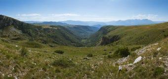 Vallée de Durmitor Photo libre de droits