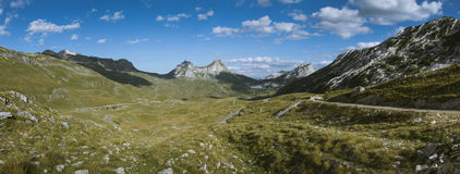 Vallée de Durmitor Images libres de droits