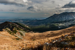 Vallée de Gasienicowa Photographie stock