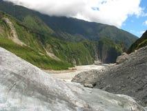 Vallée de glacier Photographie stock