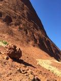 Vallée de grès rouge Image libre de droits
