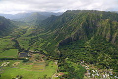 Vallée de Kaaawa Images libres de droits