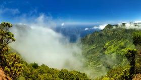 Vallée de Kalalau Photo libre de droits
