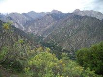 vallée de kalash photo stock