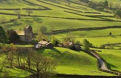 Vallée de Kentmere, Cumbria Photos libres de droits
