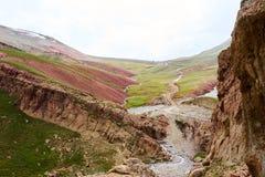 Vallée de Kichik-Alai Images libres de droits