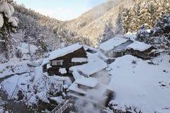 Vallée de l'hiver Images stock