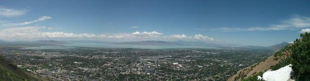 Vallée de l'Utah panoramique Photos libres de droits