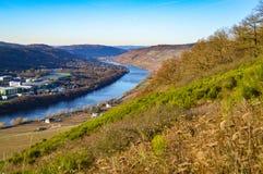 Vallée de la Moselle Photos stock