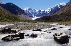 vallée de la Russie de montagnes de masej d'altai Photo stock