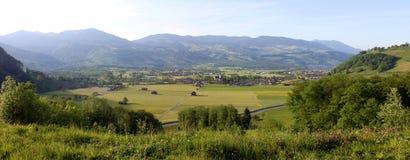 Vallée de la Suisse Photographie stock libre de droits