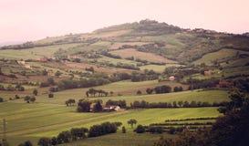 Vallée de la Toscane Image stock