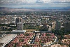 Vallée de Las Vegas photographie stock libre de droits