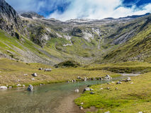 Vallée de Maltatal, Autriche Photo libre de droits