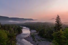 Vallée de Margaree en Île du Cap-Breton, Nova Scotia photos stock