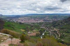 Vallée de Millau image libre de droits