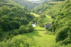 Vallée de Monsal, Derbyshire Image libre de droits