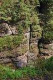 Vallée de montagne images stock