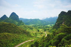 Vallée de montagne Photo libre de droits