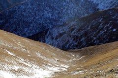 Vallée de montagne Images libres de droits