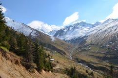 Vallée de montagne, région de la Mer Noire, Turquie Images libres de droits