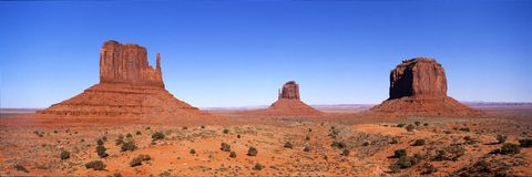 Vallée de monument photos stock