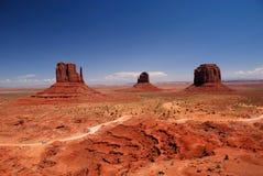 vallée de monument Images stock