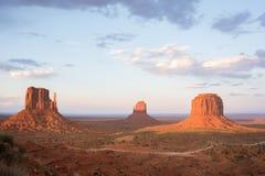 Vallée de monument Images libres de droits
