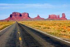Vallée de monument, Arizona Photographie stock