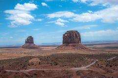 Vallée de monument, Arizona Photos libres de droits