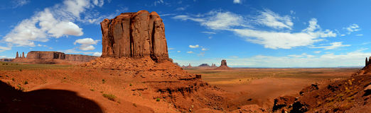 Vallée de monument, Arizona, Utah, Etats-Unis Photo libre de droits